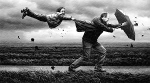 wind by Adrian Sommeling
