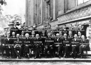 SOLVAY CONFERENCE, 1927