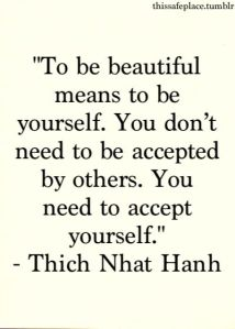 be yourself be beautiful