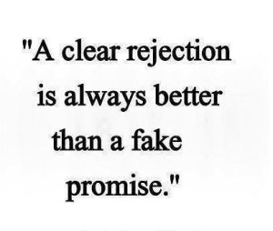 clear rejection