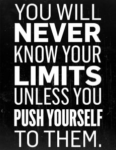 know your limits